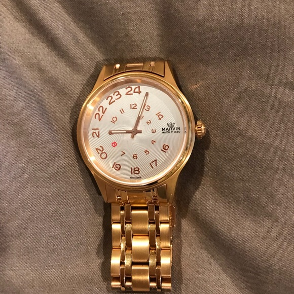 marvin Accessories - Marvin Swiss made rose gold watch